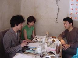 カフェの一角で行われたエネルギーダイエット講座